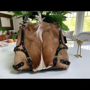 Pony Tail fur purse